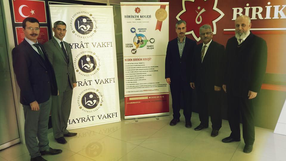 Hayat Vakfı Birikim Koleji Osmanlıca Kursu Protokolü İmzalandı